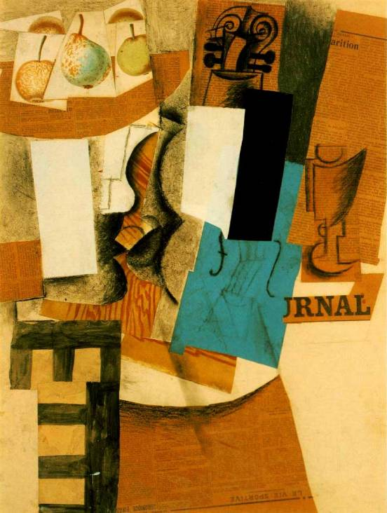 1912_Picasso_still-life-with-violin-and-fruits_c