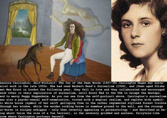 1937_Carrington_Self-Portrat-Dawn-Horse_c
