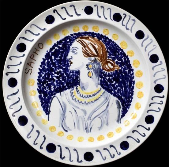 1932_Bell+Grant_dinner-plates-Sappho_c